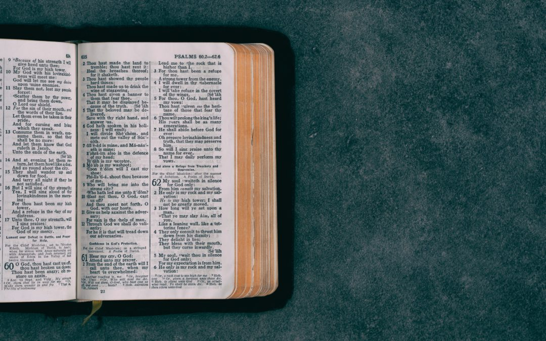 Creating a Habit of Dwelling in God's Word
