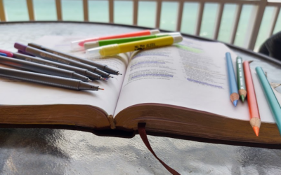 Bible Study with Color Coded Notes